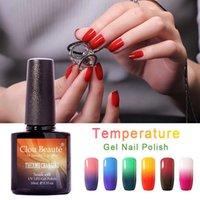 Nagelgel 10 ml clou Beaue Wählen Sie 1 von 48 Farben Temperaturänderung Farbe UV-Top-Mantel Maniküre aus der Polnisch