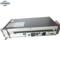 Équipement de fibre optique Huawei GPon OLT 10G, DC MA5608T + 1 * MCUD1 10G + 1 * MPWC 1 * GPFD 16 Port B + C + C ++, Hua Wei Terminal Linii OPTYCZNEJ1