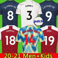 Fans Spieler Version 4. Fussball Jersey 20 21 Pepe Saka Nicolas Tierney Henry Wilian Human Race 2020 2021 Football Hemden Männer Kinder