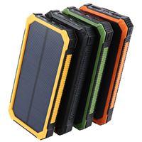 Tollcuudda 20000mAh solar poverbank ل xiaomi iphone lg phone قوة البنك شاحن البطارية المحمولة المحمول pover bank powerbank