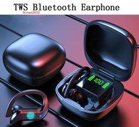 TWS بلوتوث 5.0 سماعات TWS سماعة رأس لاسلكية 9D هاي فاي ستيريو سماعات الأذن Sporte يدوي مع ميكروفون