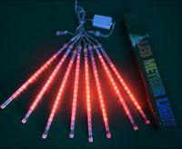 YENİ 30cm Parti Düğün Dekorasyon Noel Tatili LED Meteor Işık GGB2379 için 50cm Su geçirmez meteor yağmuru Yağmur Tüpler LED Aydınlatma