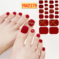 22tips sheet Full Cover Wraps Nail Polish Stickers Strips Pl...