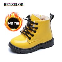 BENZELOR Children winter snow boots kids shoes for girls boy...