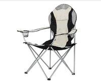 Средний стул для кемпинга Рыболовный стул складной стул черный серый