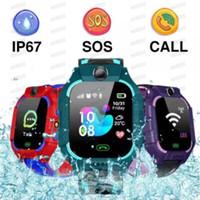 Q19 SOS-Kamera Smart Watch Baby LBS Position Lacation Tracker Smart Kids Watch Voice Chat Taschenlampe Kinder vs Q100 Kostenloses DHL