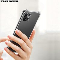 Case for iPhone 12 pro Max Airbag antiurto TPU Bumper dura del PC acrilico ibrida Coperchio Per iphone12 12pro 12mini