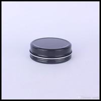 100g Czerwony Czarny Pusty Aluminium Can Caniner Metal Smarki Blasowe z Wewnętrznymi wkładkami do Cewki bawełnianej i świecy