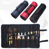 Sacos de armazenamento TUUTH Ferramenta multifuncional ferramentas de bolso portátil Oxford Pano Instrument Case