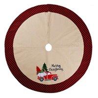 Orman Yaşlı Adam Araba Ağacı Etek / DIY Ev / Noel Ev Dekorasyon / Alt Giydir Noel Ağacı için1