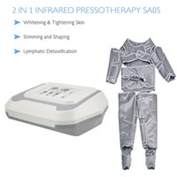 2 in 1 Ferninfrarot-Akupressur Lymphdrainage Maschine abnehmen Haut Detox Fat Loss Spa Salon Verwenden Maschine mit Heizung presoterapia