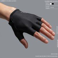 Велоспорт перчатки Летние виды спорта противоударный Спортивные перчатки Половина Finger Mens для женщин MTB велосипед перчатки Guantes Ciclismo