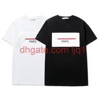 Мужская женская футболка 21ss новая мода круглые шеи с коротким рукавом Trend письмо печатает футболку 17 стилей WF2102042