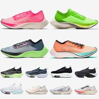 Top mode vaporfly Next% Femmes Mens de course Chaussures de course Zoom Volt Volt Valérien Blue Ekiden Bleu Ruban Coureurs Entraîneurs en plein air Sneakers