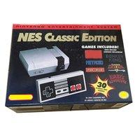 Neues klassisches Spiel TV HD-Video-Handheld-Konsole Unterhaltung Wii-Systemspiele für Can speichern 30 Edition Modell NES MINI Game Consoles Player