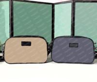 2021 Klasik Sırt Çantası Omuz veya Bel Çantaları Haki ve Siyah Geliyor İki Renk Kamera Çantası Boyutu Kullanılabilir 24 14 7