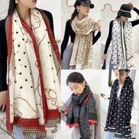 Luxury Cotton Linen Scarf Women Hot Sale Designer Brand Lett...