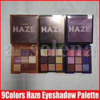 Макияж New Eye Haze 9 цветов Eyeshadow Palette прессованная Фиолетовый песок Хаки Shimmer Eye Shadow Matte 3 Стили