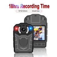 Videocamere di lusso di alta qualità 1296P 1080P FHD Body Fotocamera Allarme Flash Nigit Vision DVR Video Recorder Videocamera Videocamera 256 / 128G
