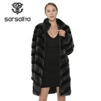 Sarmallya Kadınlar Doğal Rex Kürk Ceket Kış Kalın Sıcak Gerçek Kürk Kadın Giysileri Hakiki Yelek Ceket