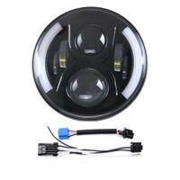 Proiettore di luce di funzionamento del LED da 7 pollici LED Fari Road King di luce per il Moto Parte illuminazione
