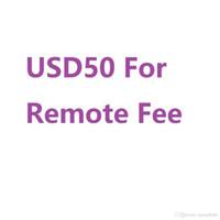Fügen Sie aufgrund Ihrer Adresse in abgelegenen Bereichen die zusätzliche USD50-Remote-Gebühr für UPS TNT-DHL hinzu