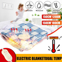150cmx180 120cm Electric Blanket Heating Carpet Mattress Hea...