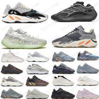 Hot 2020 Inércia 700 Sapatos Running Mens Mulheres Sneakers Novo Hospital Azul 700 V2 Ímã Tephra Melhor Qualidade Esporte Tênis