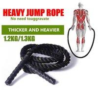 25mm pulando corda fitness ponderado pular corda exercício pesado exercício esportes músculo perder peso salto equipamento l707