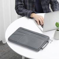 Aktentaschen Bubm Polyester Halter Laptop-Hülsengehäuse, stoßfester Fallschutz für 13-15,6 Zoll MacBook Pro / Notebook