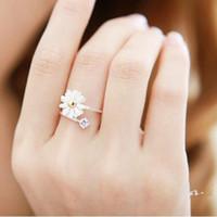 Trauringe Blumenmuster Love Ring Liebe Elegante Mode