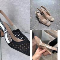 0TQUQ Damen flache Rutsche Sandalen Hohe Qualität Farbe Gewebt Frauen Hausschuhe Square Sandal Mules Designer Schuhe Sexy Hochzeit High Heels Schuhe