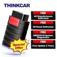 Thinkcar Thinkdiag OBD2 Tarayıcı OBD 2 Kod Okuyucu Tüm Sistem Araba Teşhis 15 Sıfırla Diag Diag PK X431 EasyDiag 3.0 AP200 Golo1