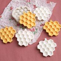1 pcs DIY DIY Honeycomb bolos moldes molde de silicone fondant sabão de chocolate sabão doce biscoito molde de açúcar cozando acessórios de cozinha