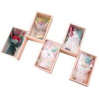 Valentin Tag Seifenblume Geschenk-Box-Simulation Rose Bouquet Geschenk Mutter Tag Hochzeit Geburtstag Seife Blumengeschenk Dekor HHA2170