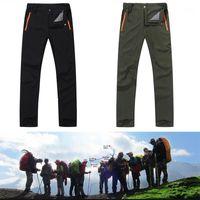 Pantalones de senderismo estiramiento Hombres Pantalones secos rápidos para hombre Pantalones al aire libre de escalada de montaña Viajes / Pesca / Hot1