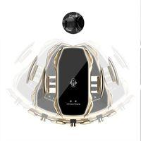 Akıllı Sensör A5S Araba Kablosuz Şarj Tutucu Otomatik Sensör Araba Telefonu Tutucu Kablosuz Şarj Telefon Araç Tutucu Mobil Standı Dağı