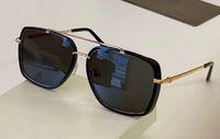 نظارات شمسية من الذهب الأسود / أسود النظارات الشمسية 0750 نظارات رجالية أزياء نظارات شمسية uv400 protecton des lunettes دي سولي