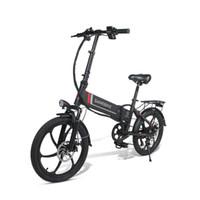 20 인치 Samebike 20LVXD30 접이식 전기 자전거 전기 자전거 350W 48V 최대 속도 35km / h 성인 전기 자전거 스쿠터