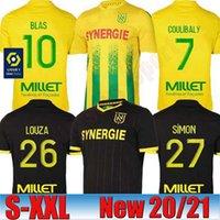 20 21 FC Nantes casa camiseta de fútbol de distancia maillot de pie 2020 camisetas de fútbol 2021 SIMON Louzã A TOURE BLAS COCO COULIBALY hombres adultos KIDS