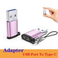 새로운 모델 USB 남성 TYPE-C TYPC C 케이블 USB 3.1 어댑터 TYPE-C 충전기 데이터 동기화 컨버터 아이폰 12 시리즈