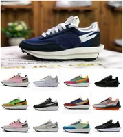 2020 LDV Waffle Travis Scotts Mens Running Shoes Moda Womens UNDERCOVER Waffle Racer Preto Branco Tripe Daybreak Trainers Varsity SNEAKERS