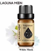Lagunamoon Branco Musk 10ml Fragrância Óleo Para Vela Difusor Difusor Home Perfume Linho Fresco Morango Sea Brisa Lime Oil