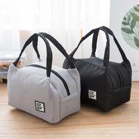 Borsa da pranzo portatile 2020 Nuova scatola di pranzo isolata termica Tote Cooler Bag Bento sacchetto portacontainer Sacchetti di stoccaggio scolastici1