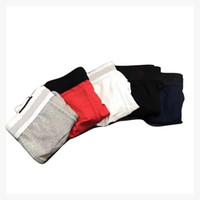 Homens de algodão cueca boxer breves letras em torno da juventude engraçado sexy boxer algodão 6 cores mens pênis cuecas boxer homme 5 pcs / lote
