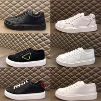 Nouveau 2020 Hommes Blanc Noir Plate-forme Low Top Sneaker Mesh Chaussures de course Casual Lady Mode mixte Taille Formateurs Respirant Vitesse 38-45