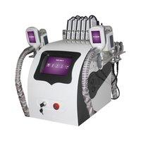 5 in 1 Cryolipolysis Fat Body Body Sculpting Slimming 40K Cavitazione Lipo Laser Machine Cryo Ultrasuoni RF Perdita di grasso Attrezzatura Lipolaser
