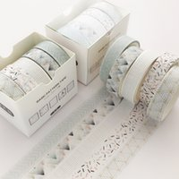 5 Adet / takım Çam Sis Bullet Dergisi Washi Bant Scrapbooking DIY Yapışkan Bant Sticker Etiket Maskeleme Bantları WashiTape T200229 2016