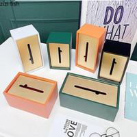 Caja de tejido rectangular de resina Hogar sala de estar de color sólido Caja de almacenamiento de tejido Cubierta de imán Decoración Titular de la servilleta Cajas1