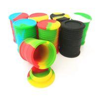 Nuovi contenitori di cera antiaderente Scatola in silicone 11ml Container Food Grade Jars DAB Strumento Stoccaggio Jar Porta olio DHL Shiping GRATUITA